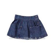 gCARLING - LIQUIDATION - Jupe basique en jean taille ajustable 12A - Neuve