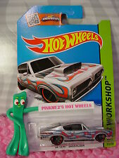 Case K/L 2015 i Hot Wheels '68 HEMI BARRACUDA #213☆Silver; Red/Blue☆Heat Fleet