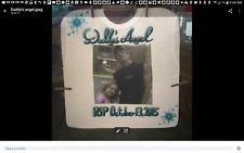 PHOTO TRANSFER with AIRBRUSHING on T-shirt Custom Personalized Adult Sizes To 6X
