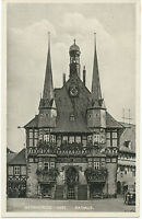 D WERNIGERODE, ca. 1920/30, s/w RP AK Rathaus, TOP-Erhaltung