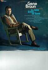GENE BRAUN LP ALBUM A NEW KIND OF LOVE