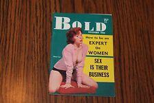 Bold December Dec 1956 Pocket Size Digest Men's Magazine See My Store
