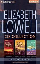 ELIZABETH LOWELL CD COLLECTION Desert Rain, Lover in the Rough Beautiful Dreamer