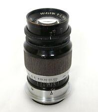 Leica 9cm F4 Black & Nickel Elmar Lens in L39 Mount, UK Dealer