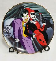 Warner Bros Joker & Harley Quinn Collector's Plate Limited Edition Batman
