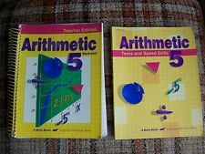 Beka Book: Arithmetic 5 Teachers Edition: Work-Text & Tests and Speed Drills