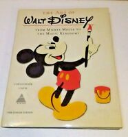 Vintage 1975 The Art Of Walt Disney Christopher Finch Hardcover Concise Edition