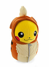 Pokemon Pikachu in Growlithe Sleeping Bag 10 inch Nebukuro Collection Plush Toy