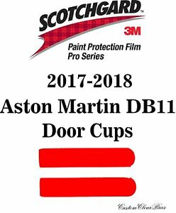 3M Scotchgard Paint Protection Film Pro Series Clear 2017 2018 Aston Martin DB11