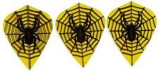"""Poly Dart Flights """"Redback Spider"""" - Kite Shape"""