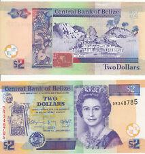 Belize - 2 Dollars 2017 UNC - Pick New