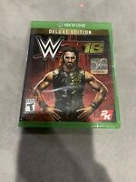 WWE 2K18: Deluxe Edition (Microsoft Xbox One, 2017) NEW - Sealed - SHIPS FAST!