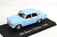 ALFA ROMEO GIULIETTA 1956 LIGHT BLUE 1:43 MAGBA15A BLISTER PACK