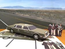 PaperCraft Cannonball Run 2 movie Chrysler Imperial limousine paper model car