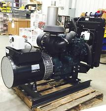 Kubota 30 kW Diesel Generator - 1 PHASE OR 3 PHASE RECONNECTABLE
