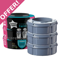 Tommee Tippee Sangenic Tec Nappy Disposal Refill Cassettes - OFFER!