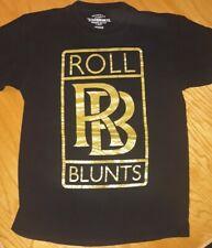 "Ecko ""Roll Blunts"" T Shirt Rolls Royce Logo T Shirt Size M Ecko Brand"
