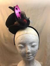 Cirque Du Soleil Women's Mini Top Hat Head Black One size Ladybug Design NWT