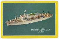 Playing Cards Single Card Old MOORE McCORMACK LINES Shipping Advertising Liner 2