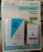 ▐▐▐▐ Baoji Wireless Cordless Calling Remote Door Bell for Home Office Shop ▐▐▐▐