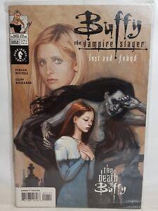Buffy The Vampire Slayer Comic LOST AND FOUND #1  Dark Horse  Joss Whedon