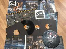 "SIREN – Up from the Depth 3 LP + 7"" (NEW*LIM.100*DIE HARD*BLACK VINYL + SLIPMAT)"