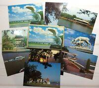 Postcard set 9 pcs  Vintage postcards China 70s postcards memorable places