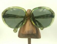 Vintage Ray Ban B&L Play Time Green Translucent Oval Sunglasses Frames USA