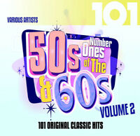 Various Artists : Number Ones of the 50s and 60s - Volume 2 CD 4 discs (2016)