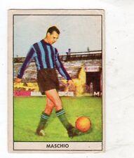 FIGURINA  CARTONATA  CALCIATORI  STELLA  1961-62   ATALANTA   MASCHIO