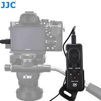 JJC Wired Remote Control for Sony A9 A7 III II A7R Mark IV III A7S II as RM-VPR1