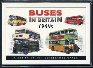BUSES IN BRITAIN 1960s Collectors Card Set  AEC Leyland Guy Daimler Bristol BMMO