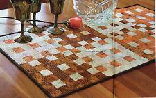 Urban Table Quilt Pattern Pieced JR