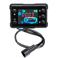 12V LCD Monitor 24V Parking Heater Controller Switch Car Track Air Diesel Heater