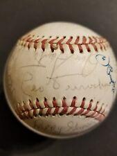 1971 Chicago Cubs Team Signed Baseball NL Ernie Banks Ron Santo Billy Williams