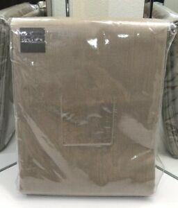 Restoration Hardware Perennials Textured Linen Drapery Grommet 50x120 Mocha $429