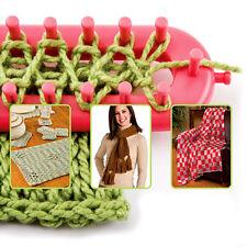 1 Set 4 Size Quality Plastic DIY Shawl Yarn Knitter Knifty Knitting Loom