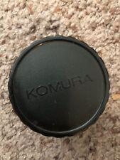 Komura Lens 7 KMC TELEMORE95 II JAPAN