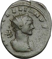 Aurelian  272AD Authentic Ancient Roman Coin Pax Peace Goddess Cult  i41229