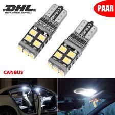 2x Canbus LED 11-SMD T10 Auto Innenraum Standlicht Beleuchtung Lampe Birnen Weiß