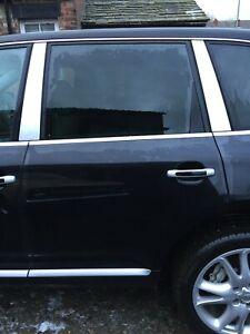 2005 PORSCHE CAYENNE S 955 NS NEAR PASSENGER REAR LEFT DOOR COMPLETE BLACK LC9Z