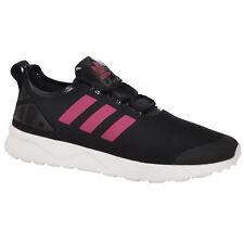 adidas Originals Womens UK 7 ZX Flux ADV Verve Running Shoes Trainers Black Pink