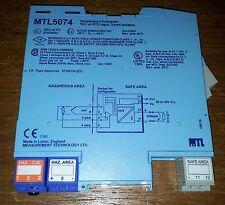 Convertitore di temperatura MTL5074 ATEX THC o input RST, 3 porta isolata