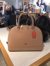 NWT Coach Nude Pink Multi Mini Sierra with Edgepaint Leather Bag F13310-New $325