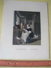 Vintage Print,LACEMAKER,W.French,Occupations,#2