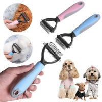 1x Useful Stainless Pet Dog Hair Comb Brush Rake Grooming Pet Detangling Comb BR