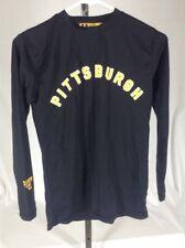 Benjamin Jordan~Youth L~Pittsburgh Steelers Black L/S Nylon Athletic Shirt Top