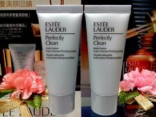 ☾2 PCS☽ Estee Lauder Perfectly Clean Multi-Action Foam Cleanser/Purifying Mask