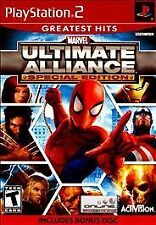 Marvel: Ultimate Alliance Special Edition PS2 (Sony PlayStation 2) Complete