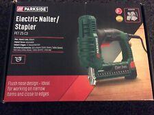 BNIB PARKSIDE ELECTRIC NAILER/STAPLER PET 25 C3 ( Staples & Nails Included)